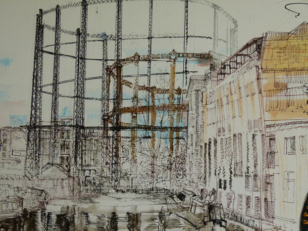Regents Canal Gas Works