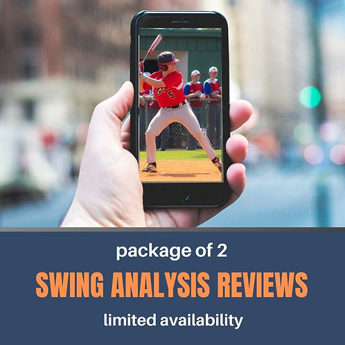 Package of 2 Swing Analysis Video Reviews