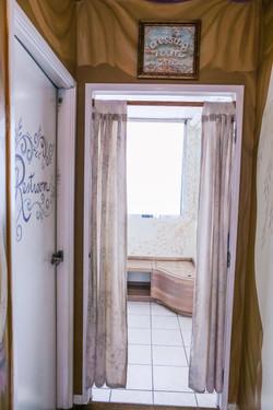 Dressing Room Entrance
