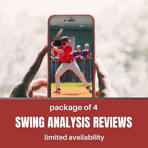 Package of 4 Swing Analysis Video Reviews