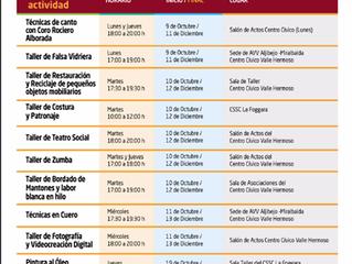 ACTIVIDADES DEL CENTRO CÍVICO Valle Hermoso