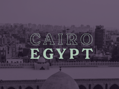 Behind the screen: teaching in Egypt during COVID-19