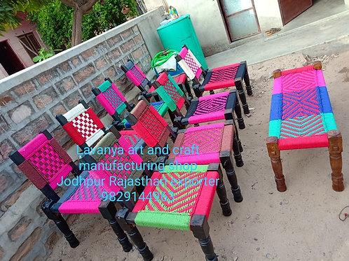 Wooden charpai cot katiya outdoor indoor furniture