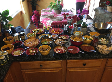 Easier parties...a potluck idea to save time and waste?