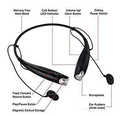 Avengers Neck Band Bluetooth Earphone