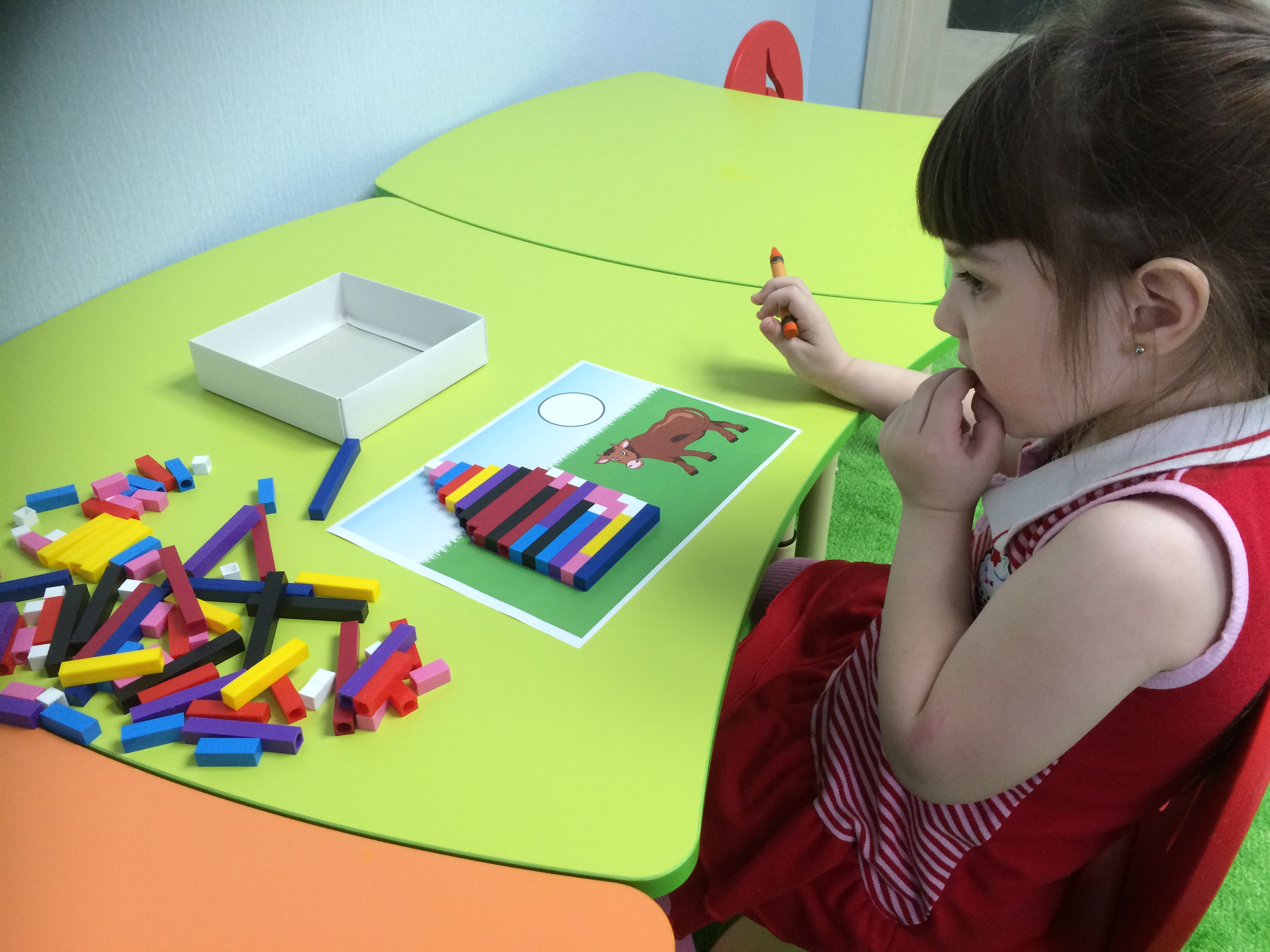 Занятия в мини-саде