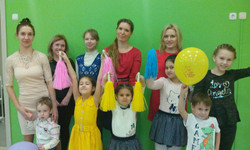 Открытие детского клуба
