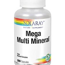 Solaray Mega Mineral Complex