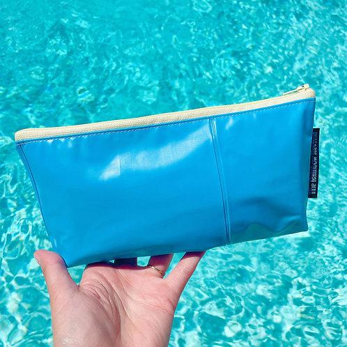 Blue Small Pouch / Petite pochette bleu