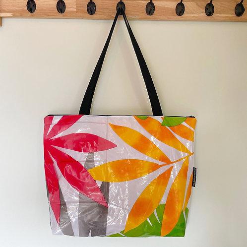 Tropical Leaves Bag / Grand Sac Feuilles tropicales