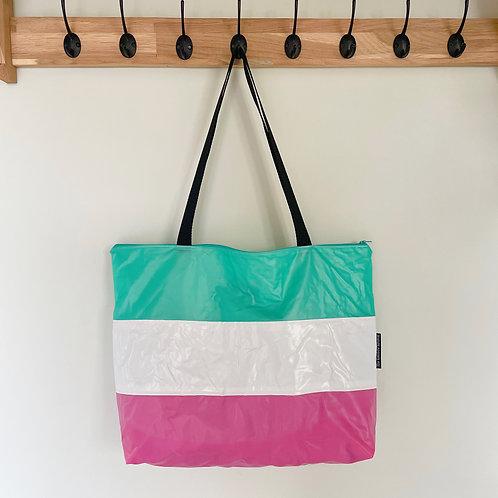 Large Striped Bag / Grand Sac Rayé