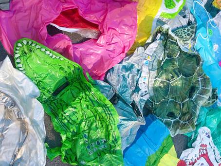 Can pool inflatables be recycled?