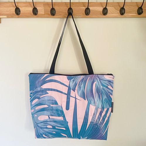 Large Palm Leaves Bag / Grand Sac Feuilles de palmier