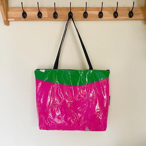 Large Raspberry Bag / Grand Sac Framboise