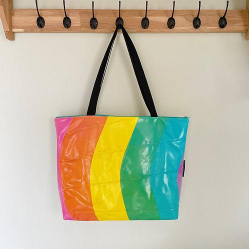 Large Rainbow Bag / Grand Sac Arc en Ciel