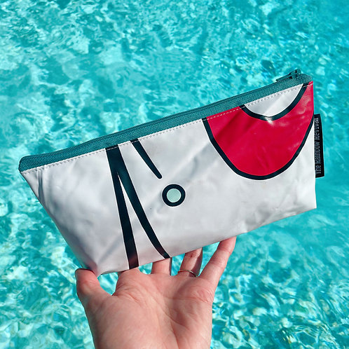 Abstract Small Pouch / Petite Pochette Abstraite