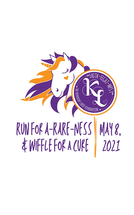 Run for A-RARE-NESS & wiffle for a cure.