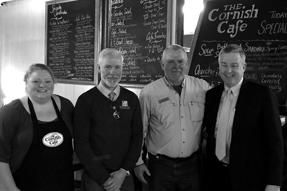 Congressman David Trone at Cornish Café