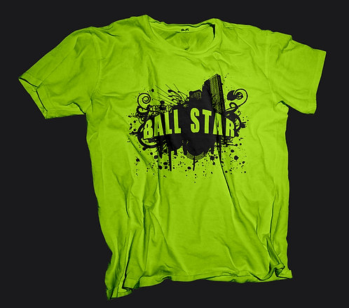 Ball Star T-Shirt (Neon)