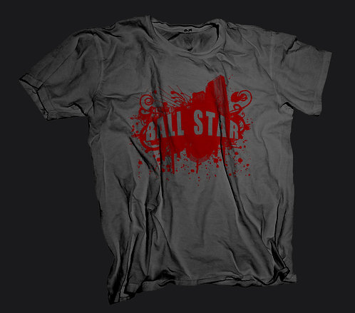 Ball Star T-Shirt (Charcoal)