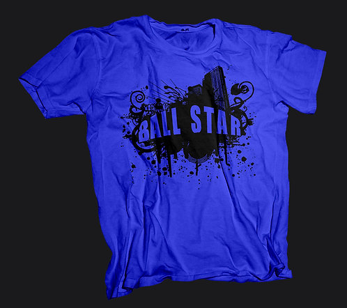 Ball Star T-Shirt (Blue)