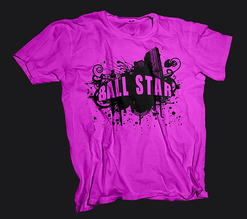 Ball Star T-Shirt (Pink)