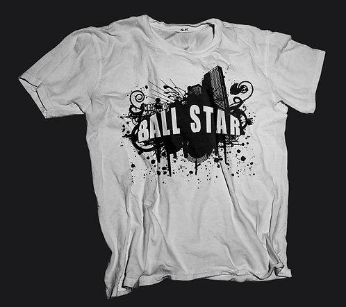 Ball Star T-Shirt (White)