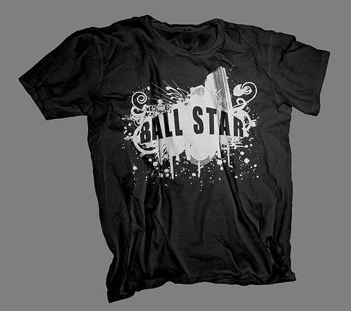 Ball Star T-Shirt (Black)