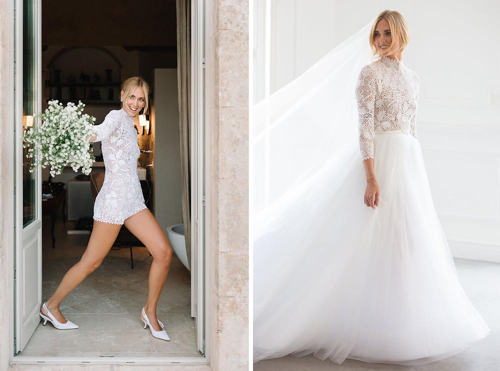 Chiara Ferragni Wedding Dress