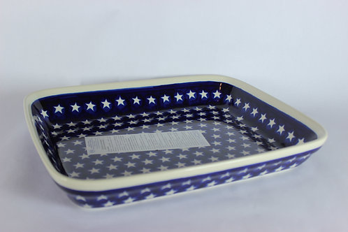 "Shallow roasting dish (large) ""stars"""