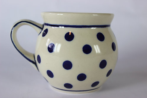 "Farmer's mug (small) ""polka dot"""