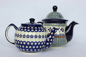 Polish Pottery Teapots