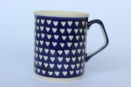 "Mug 0.25 ""hearts"""