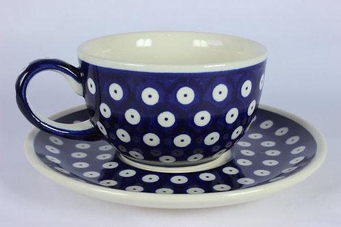 """Cup and saucer """"blue eyes"""""""