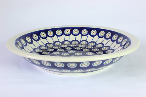 """Pasta bowl / plate """"peacock's eyes"""""""