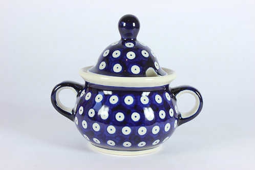 "Sugar bowl ""blue eyes"""