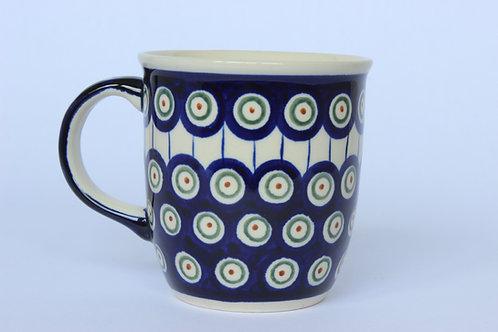 """Mug 0.35l """"peacock eyes"""""""