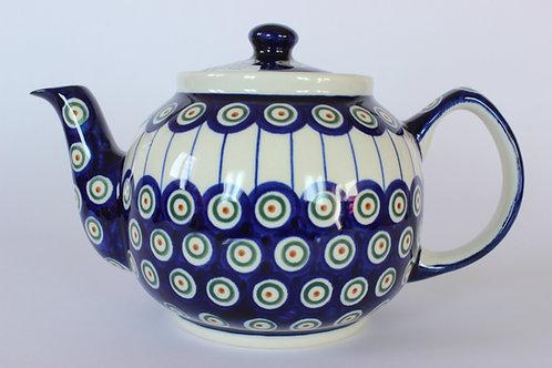 "Teapot 1l ""peacock eyes"""