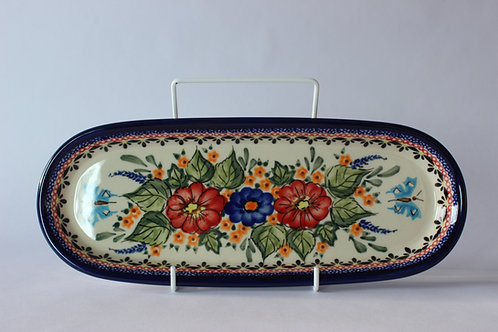 "Biscuit tray ""folky"" (UNIKAT)"