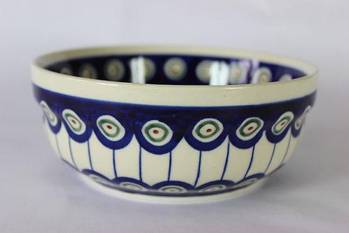 "Serving bowl 0.6l ""peacock eyes"""