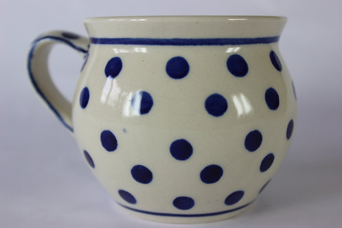 "Farmer's mug (medium) ""polka dot"""