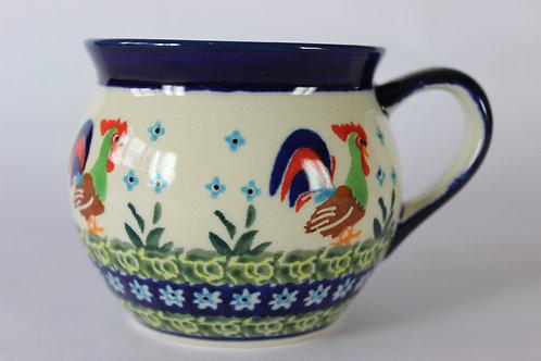 """Farmer's mug (medium) """"cockerel"""""""