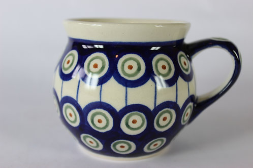 "Farmer's mug (small) ""peacock eyes"""