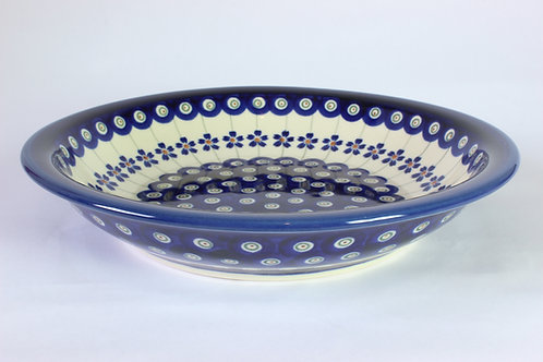 "Pasta bowl / plate ""forget-me-not"""