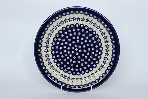 """Dinner plate """"forget-me-not"""""""