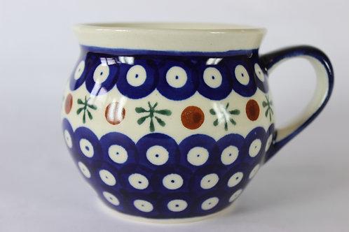 """Farmer's mug (medium) """"red dot"""""""