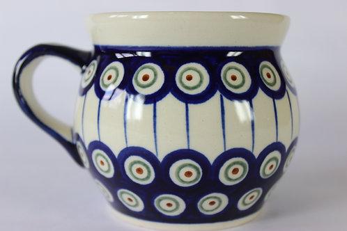 "Farmer's mug (large) ""peacock's eye"""