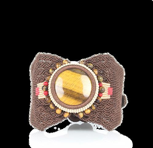 Tiger eye cuff bracelet