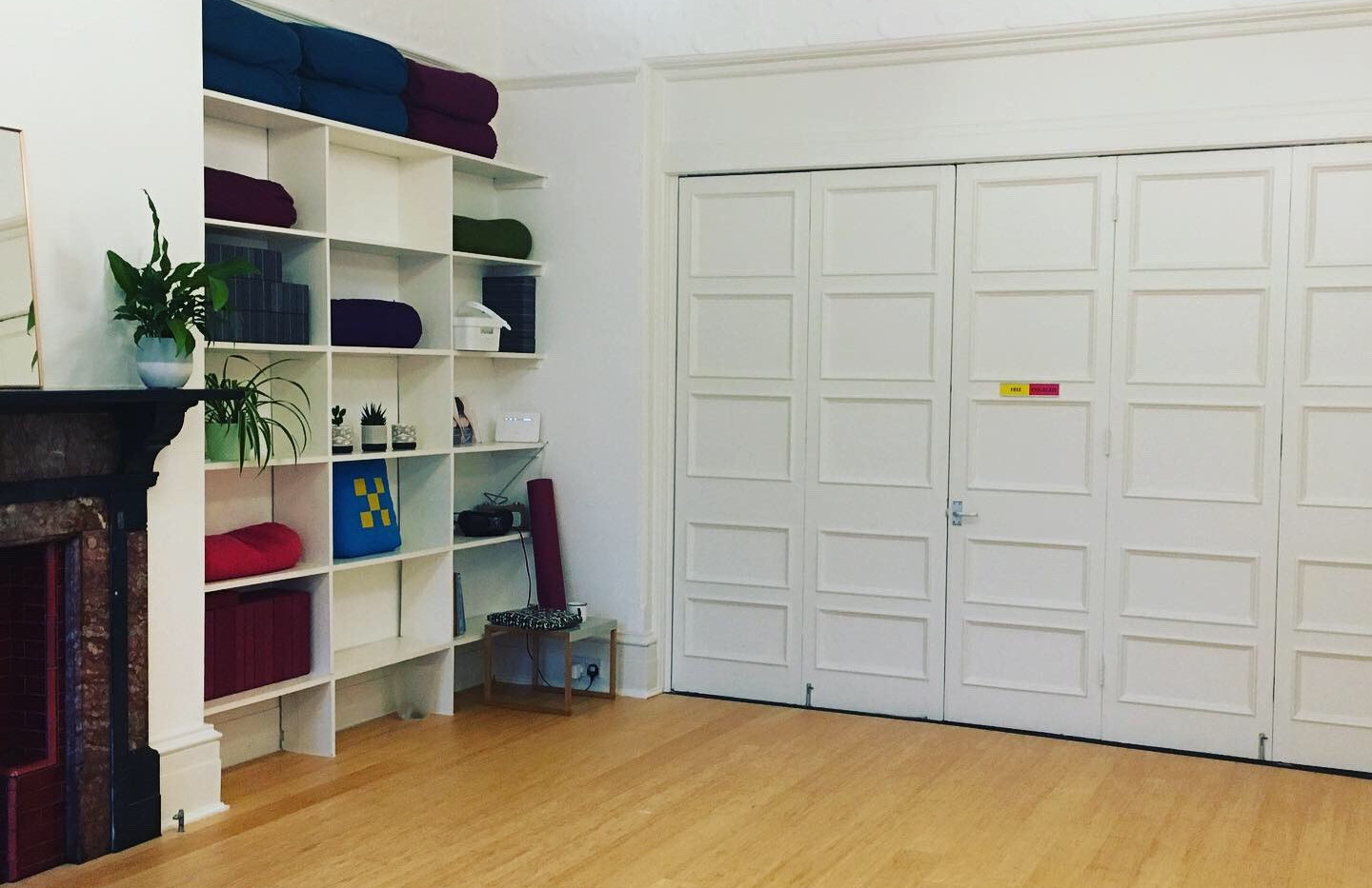 Partitioned Studio - two smaller rooms