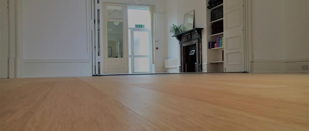 Studio bamboo flooring